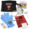 CPR/AED Responder Pack with Responder Mask in nylon pouch