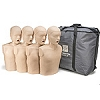 Pre-Owned Prestan Child Meduim Skin CPR Manikin w/Monitor 4-Pack