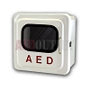 Pre-Owned Outdoor White AED Cabinet with Alarm - Drilled Mounting Holes