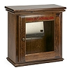 ZOLL AED Plus Hand-Crafted Wood Surface Mount AED Wall Cabinet -