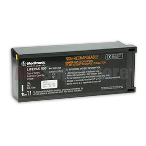 Physio-Control LIFEPAK 500 DPS Non-Rechargeable Battery