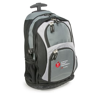 Pre-Owned AHA 2015 Rolling Computer Bag w/Pull Handle