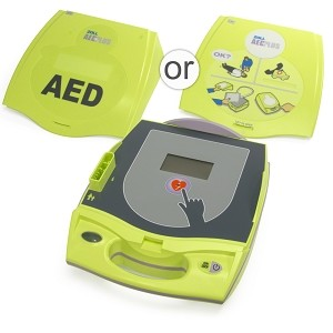 ZOLL AED Plus w/Professional Interface, Graphical Cover