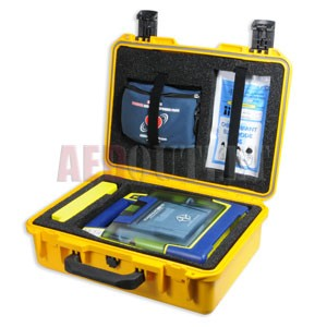 Shok Box™ Waterproof Carrying Case for the Cardiac Science AED