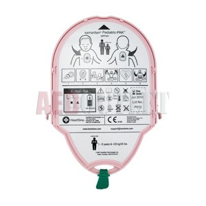 HeartSine samaritan Pediatric PAD-PAK Electrode/Battery Combo