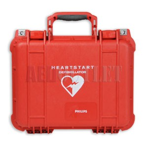 Pre-Owned Philips Hard Watertight Carry Case for Philips OnSite/Home, FRx, FR2/FR2+ AED