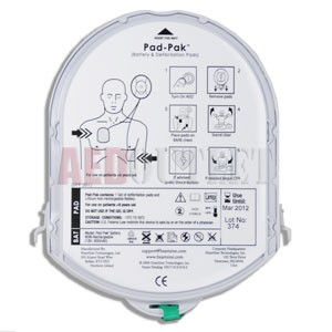 Short Expiration Date HeartSine samaritan Adult PAD-PAK Electrode/Battery Combo